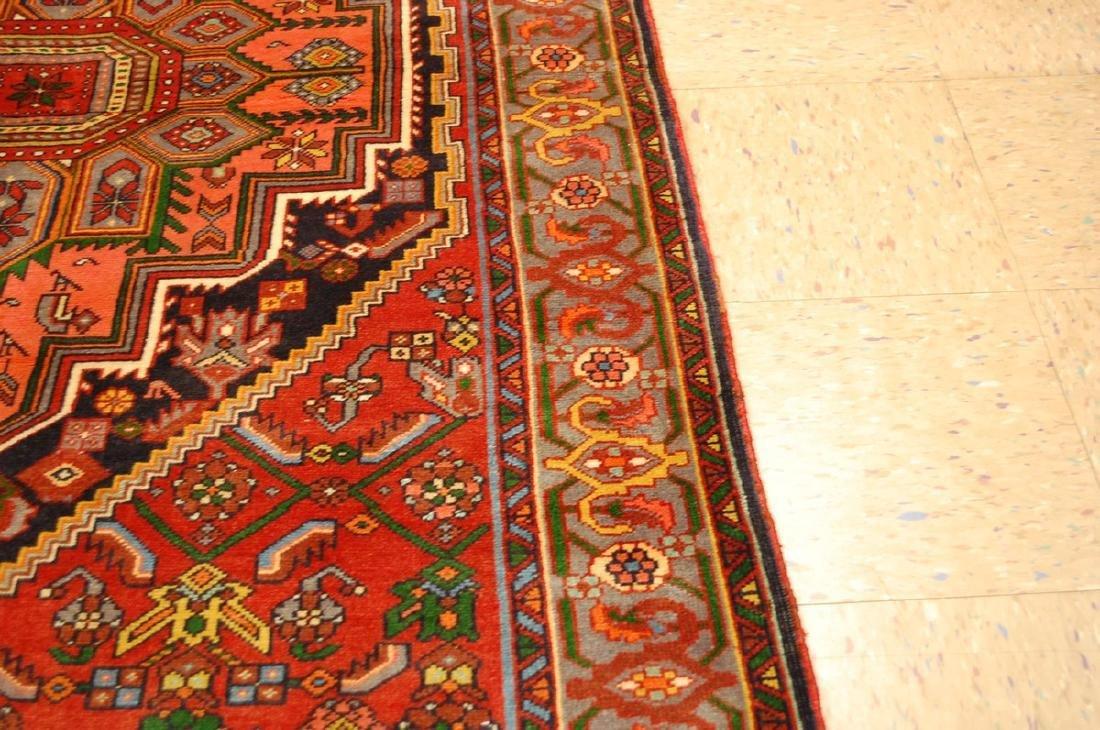 Persian Bijar Rug 4.3x6 - 7