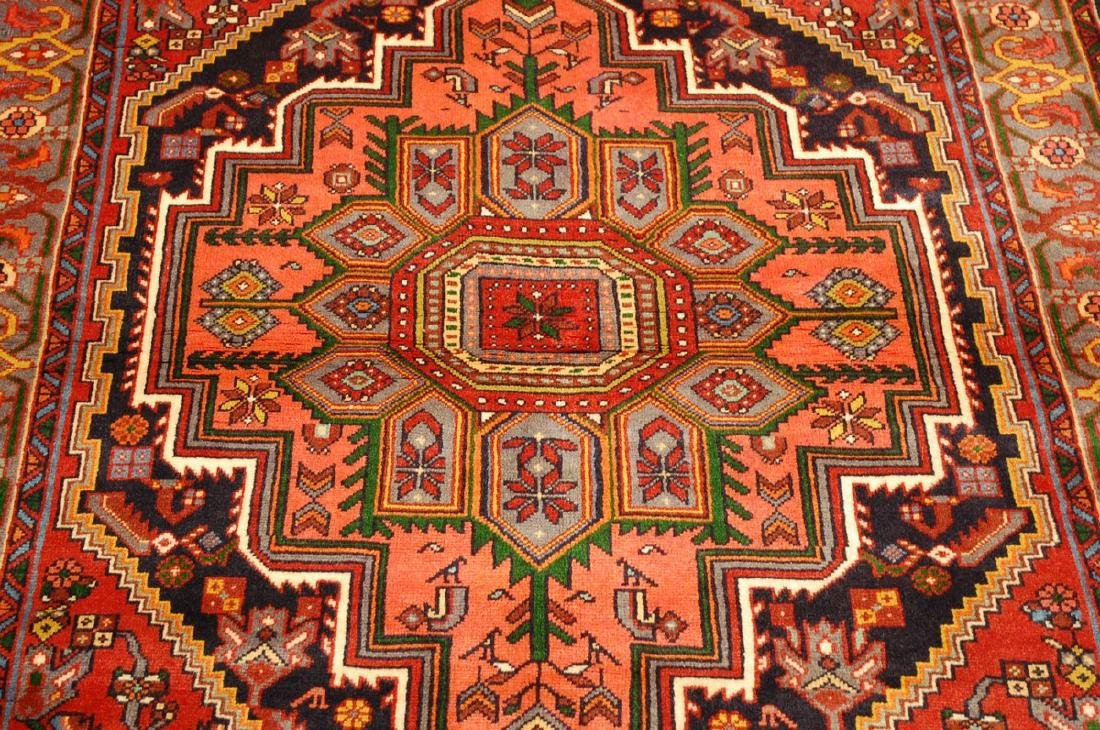 Persian Bijar Rug 4.3x6 - 9