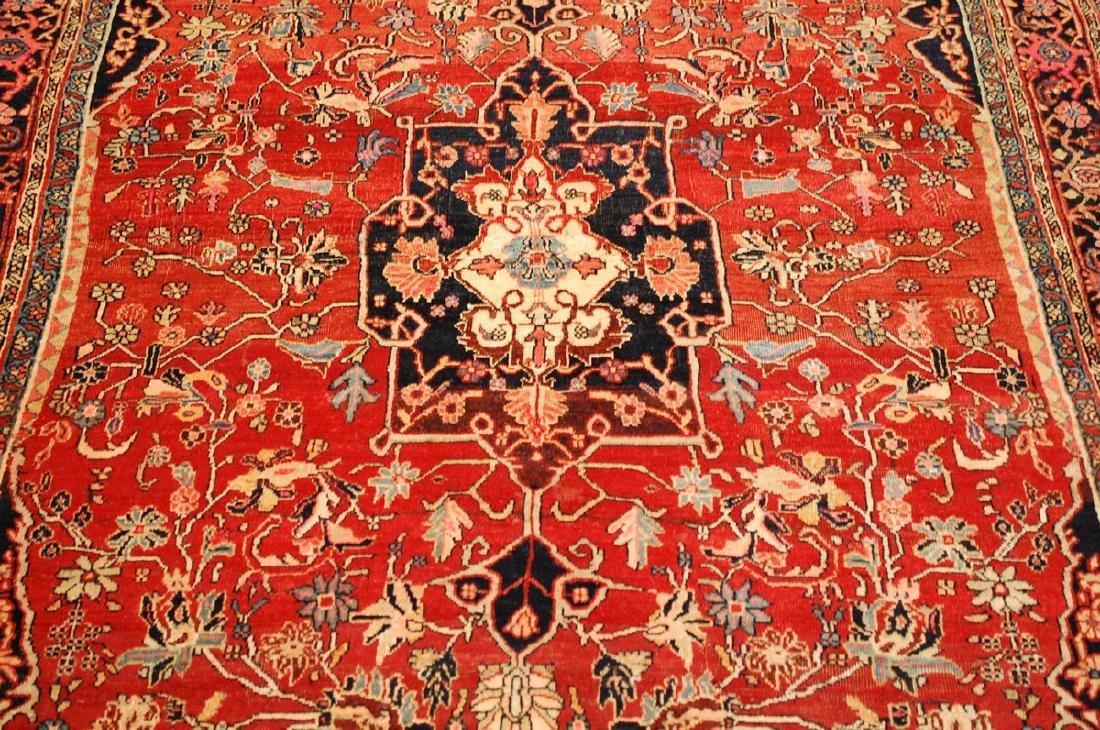 Persian Bijar Rug 4.8x7.10 - 10