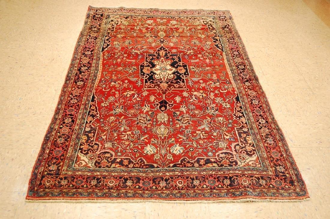 Persian Bijar Rug 4.8x7.10