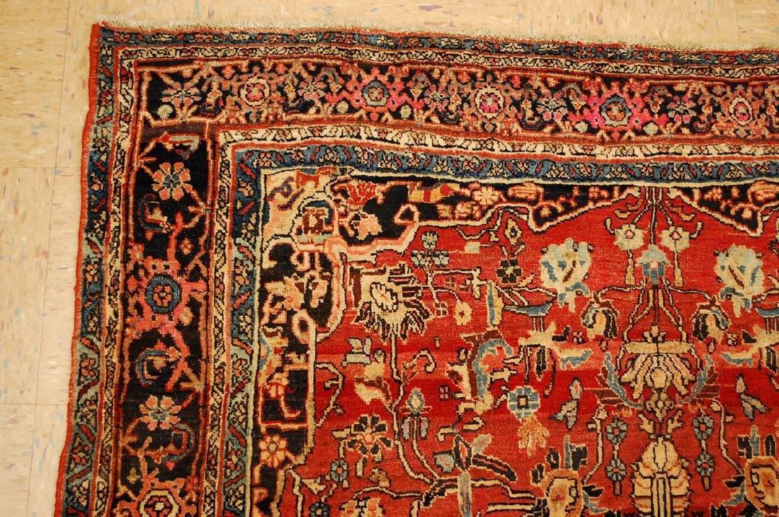 Persian Bijar Rug 4.8x7.10 - 4