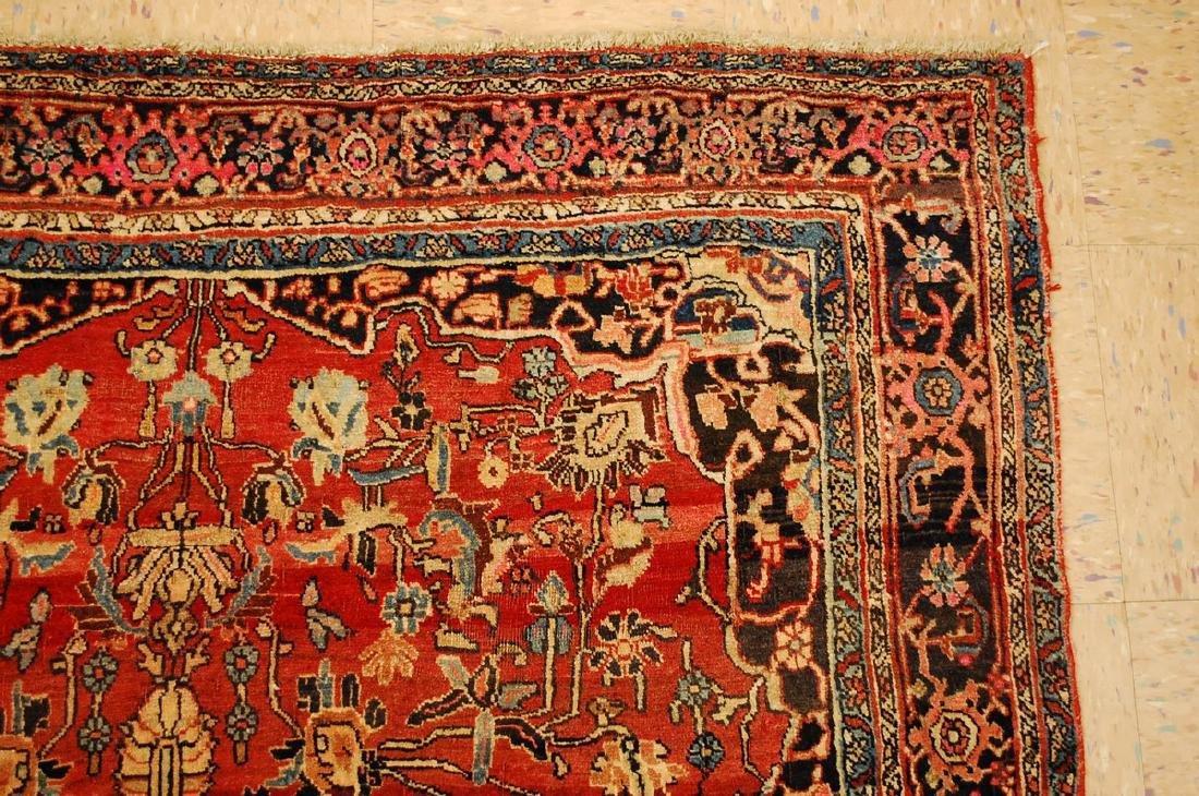 Persian Bijar Rug 4.8x7.10 - 5