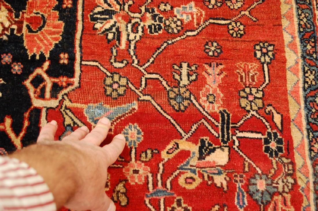 Persian Bijar Rug 4.8x7.10 - 6