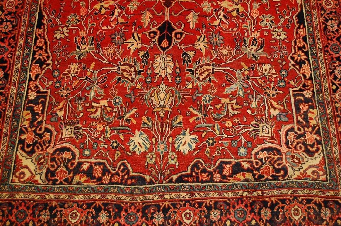 Persian Bijar Rug 4.8x7.10 - 7