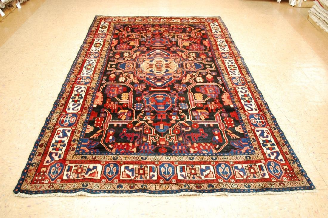Detailed Design Fine Persian Malayer Rug 5.7x9.4