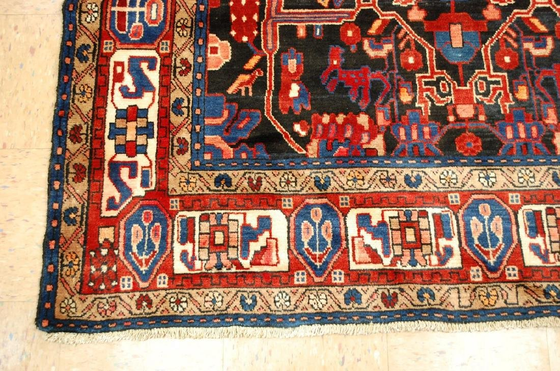 Detailed Design Fine Persian Malayer Rug 5.7x9.4 - 3