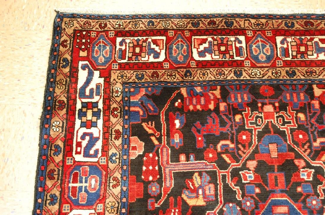 Detailed Design Fine Persian Malayer Rug 5.7x9.4 - 4