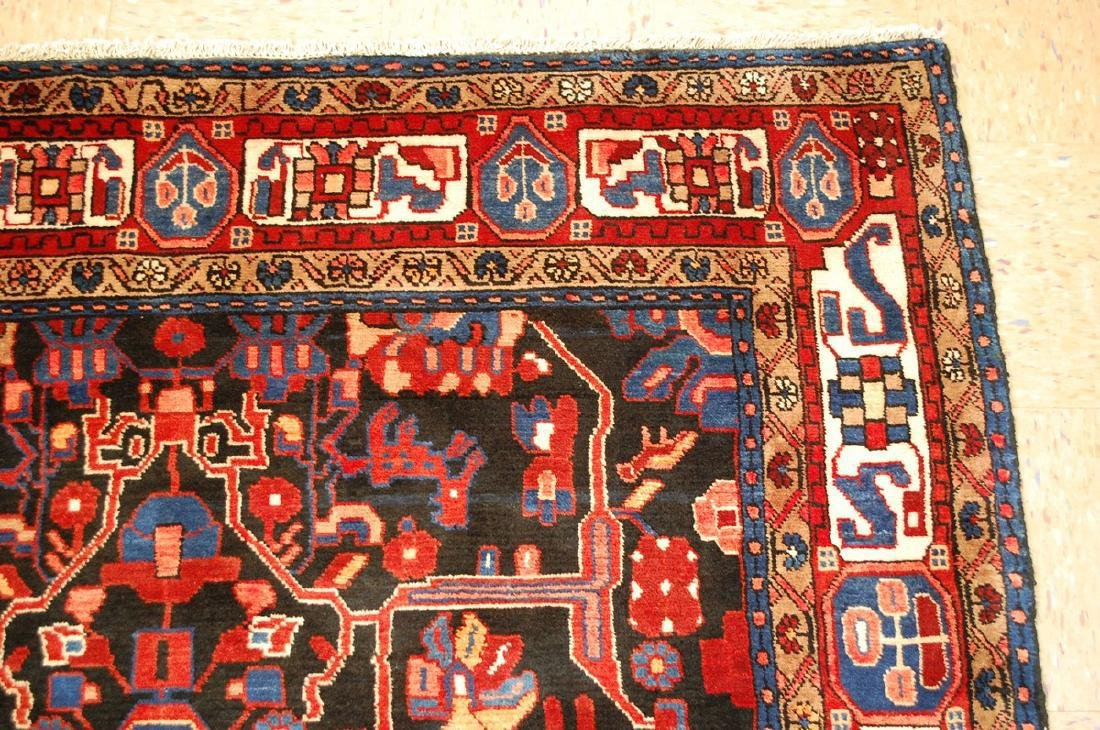 Detailed Design Fine Persian Malayer Rug 5.7x9.4 - 5