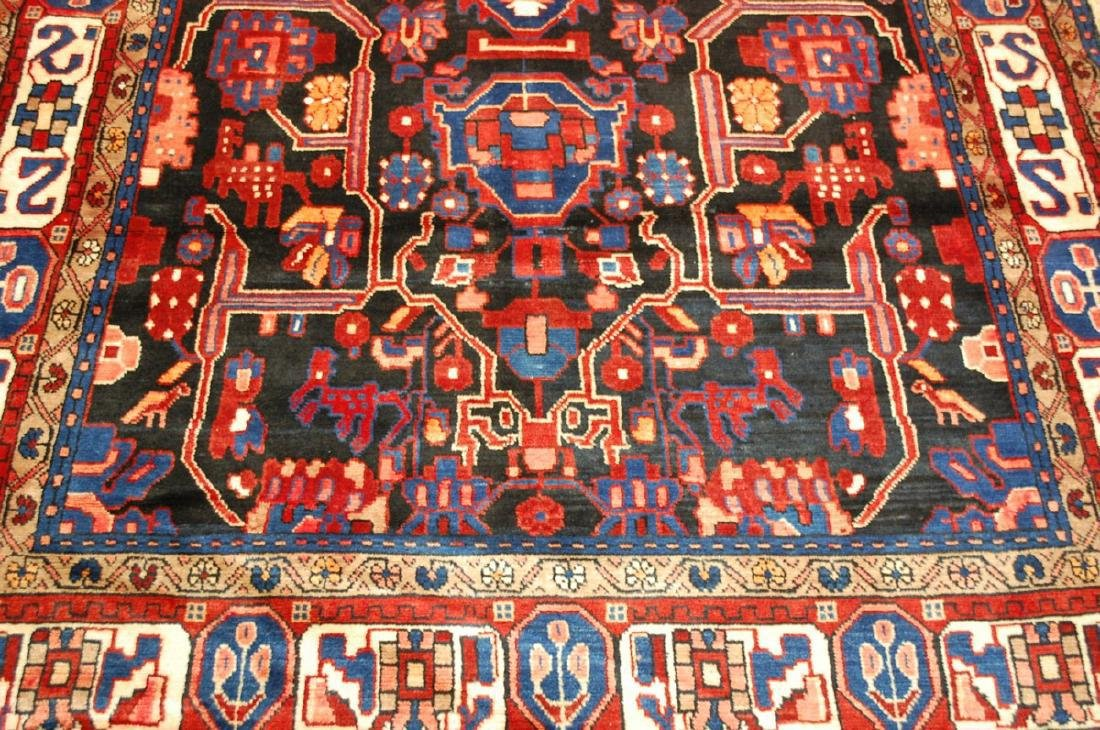 Detailed Design Fine Persian Malayer Rug 5.7x9.4 - 6