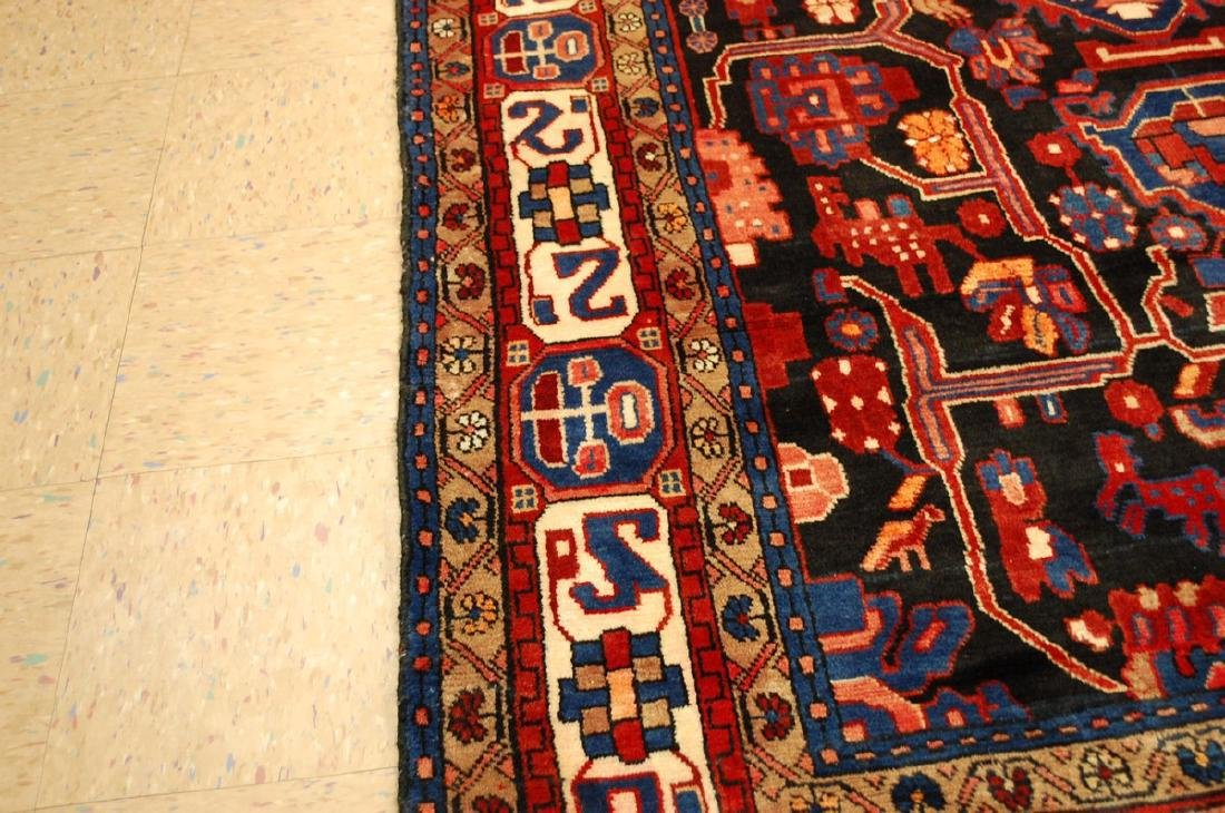 Detailed Design Fine Persian Malayer Rug 5.7x9.4 - 7