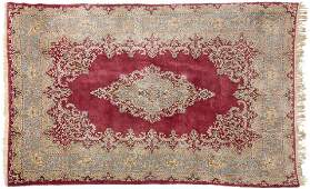 Persian Kerman Wool Area Rug 95x510