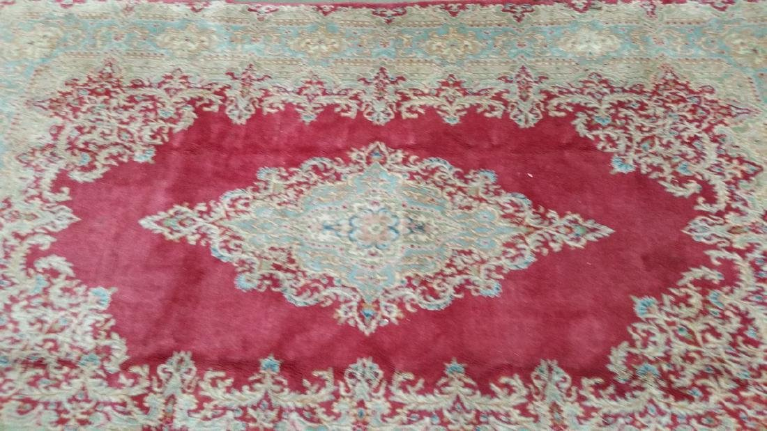 Persian Kerman Wool Area Rug 9.5x5.10 - 3