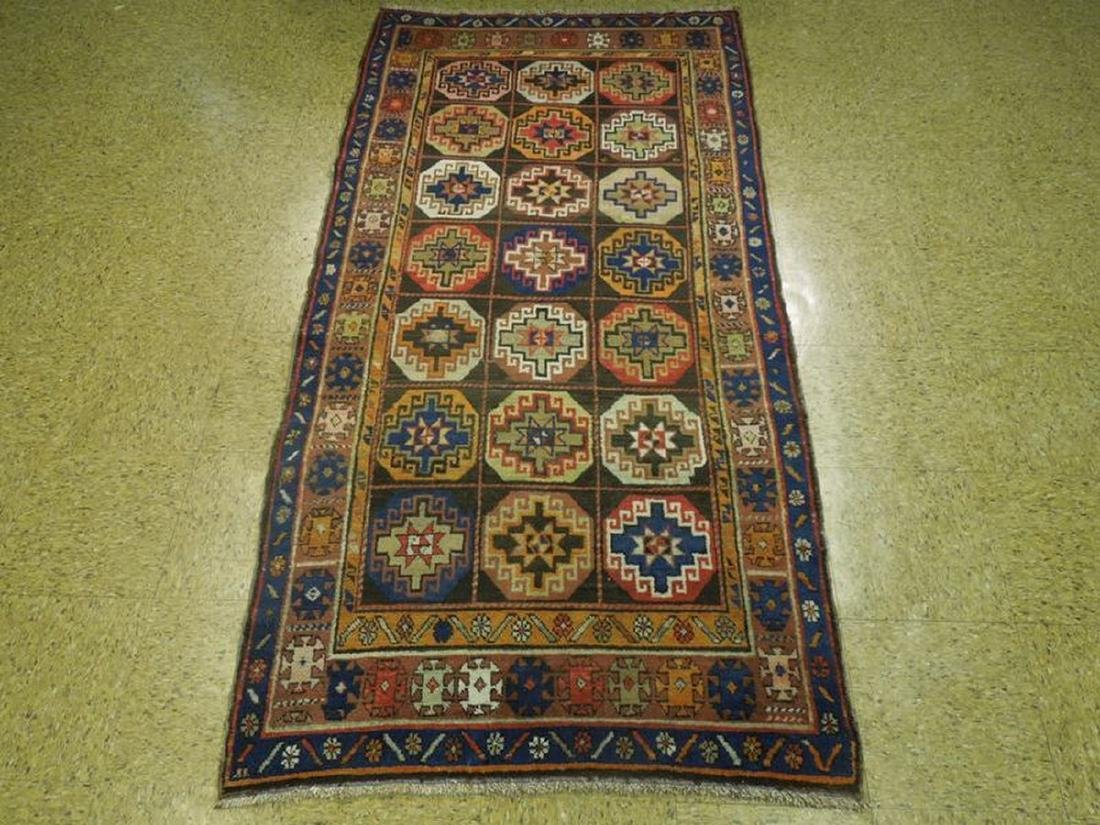 Persian North West Iran Tribal Hand-Knotted Rug 3.6x7 - 5