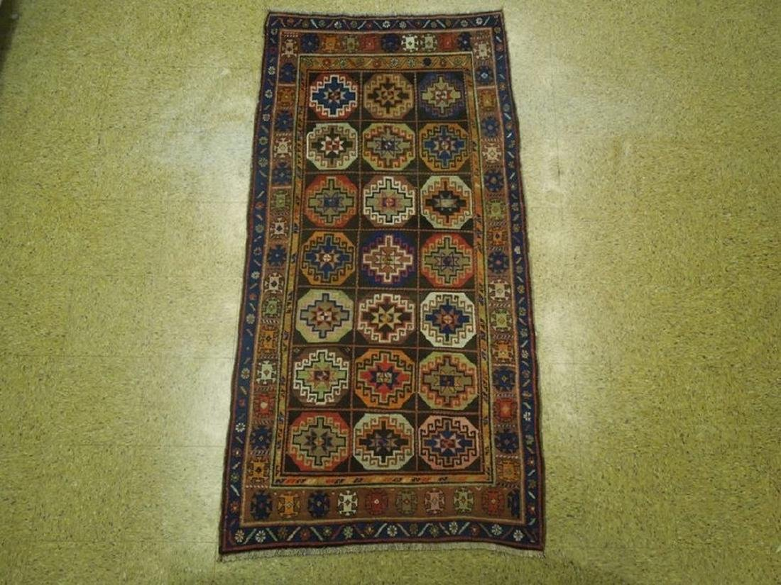 Persian North West Iran Tribal Hand-Knotted Rug 3.6x7 - 6