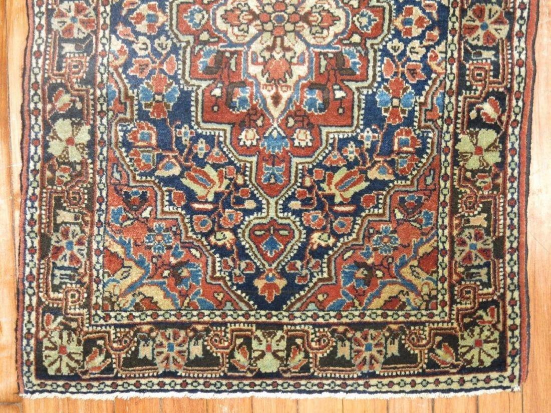 Antique Persian Sarouk Farahan Jozan Rug 2.1x3.1 - 2
