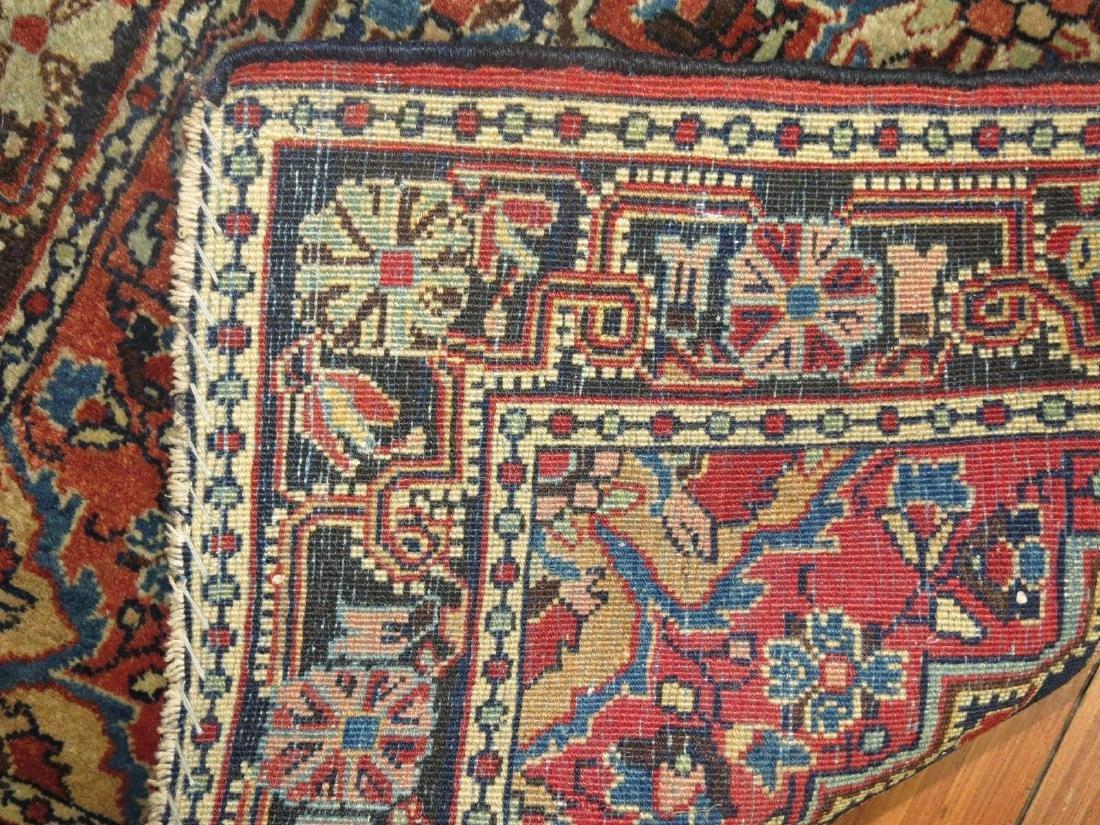 Antique Persian Sarouk Farahan Jozan Rug 2.1x3.1 - 3