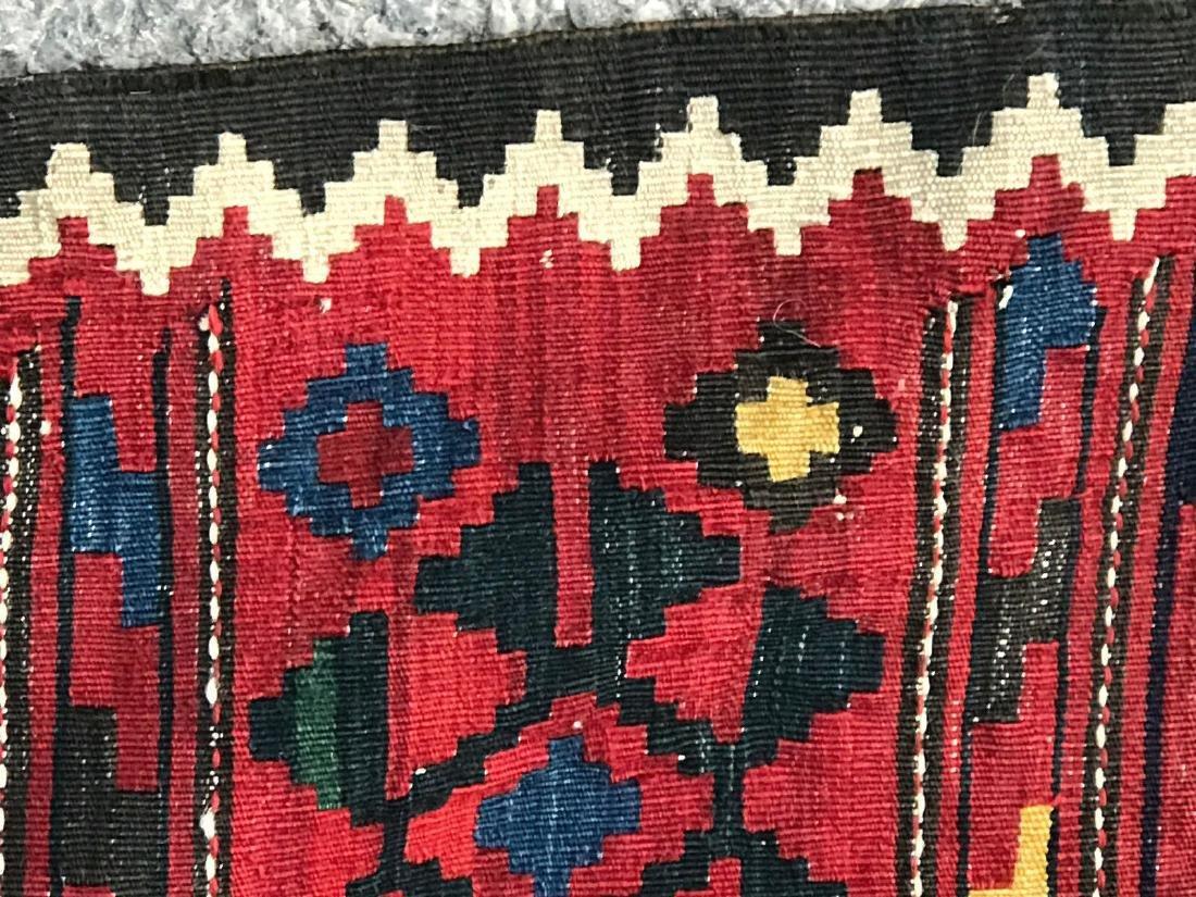 Vintage Shirvan Caucasian Kilim Rug 6.6x10.6 - 9