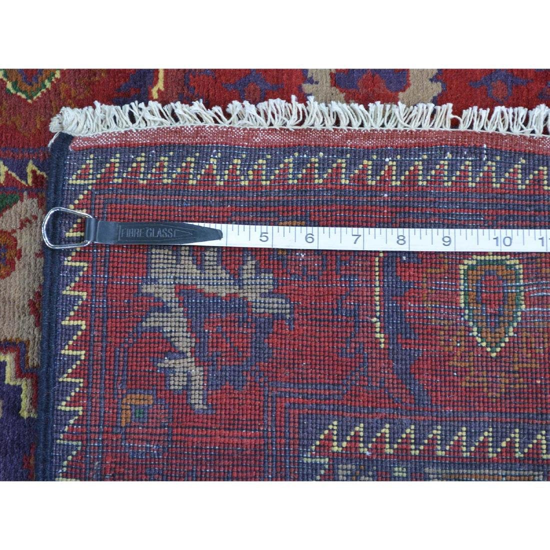 Runner Afghan Khamyab Handmade Rug 2.7x18.4 - 5