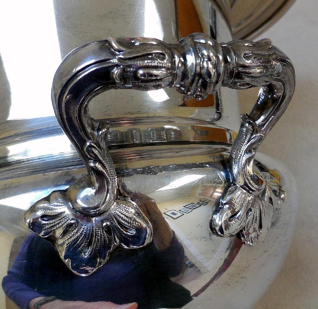 Mid-Century Silverplate Champagne Bucket - 4