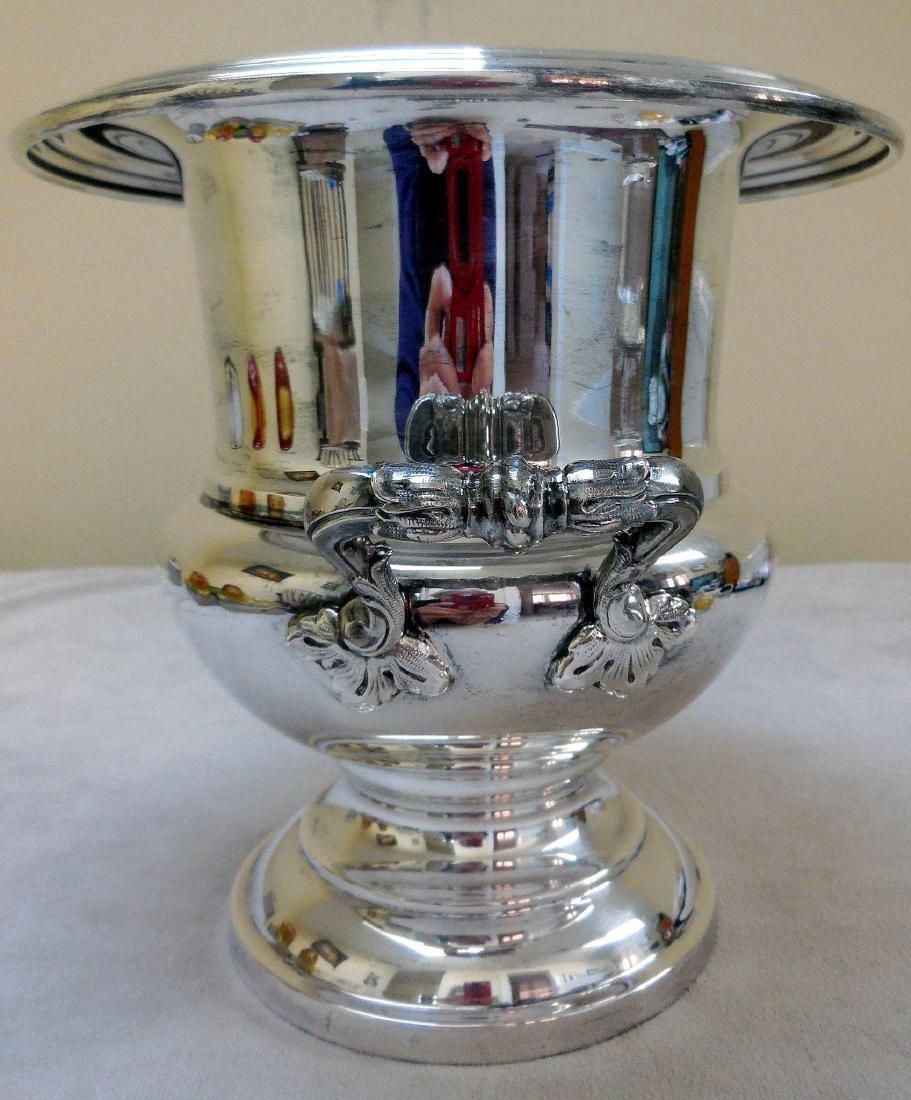 Mid-Century Silverplate Champagne Bucket - 5