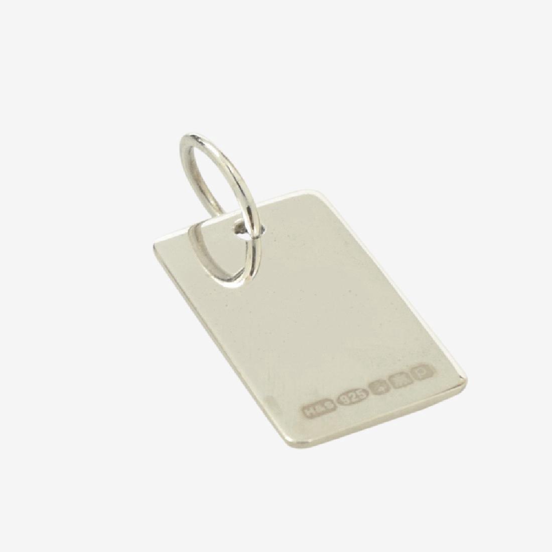 Scottish Sterling Silver Key Ring