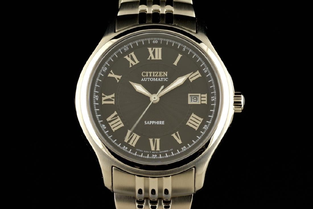 Citizen Automatic Sapphire Stainless Steel Watch
