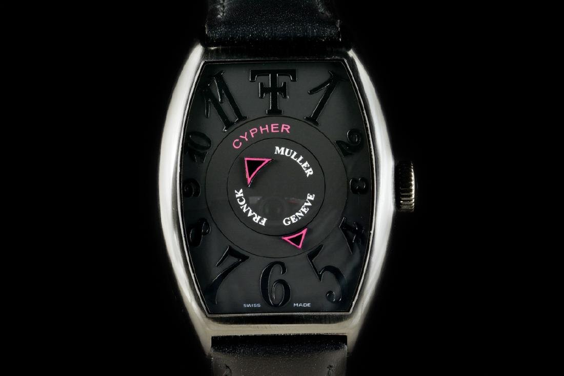 Franck Muller Cypher Limited Edition Black Steel Watch