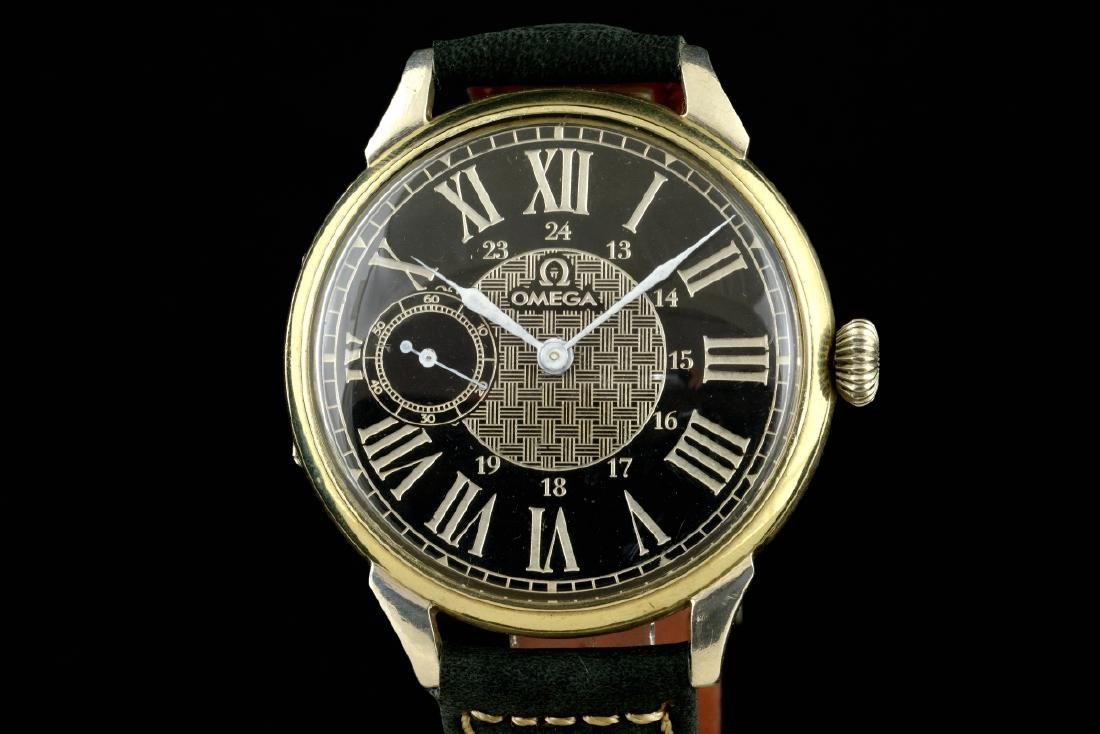 Omega Black Marriage Watch, From Orginal Pocketwatch