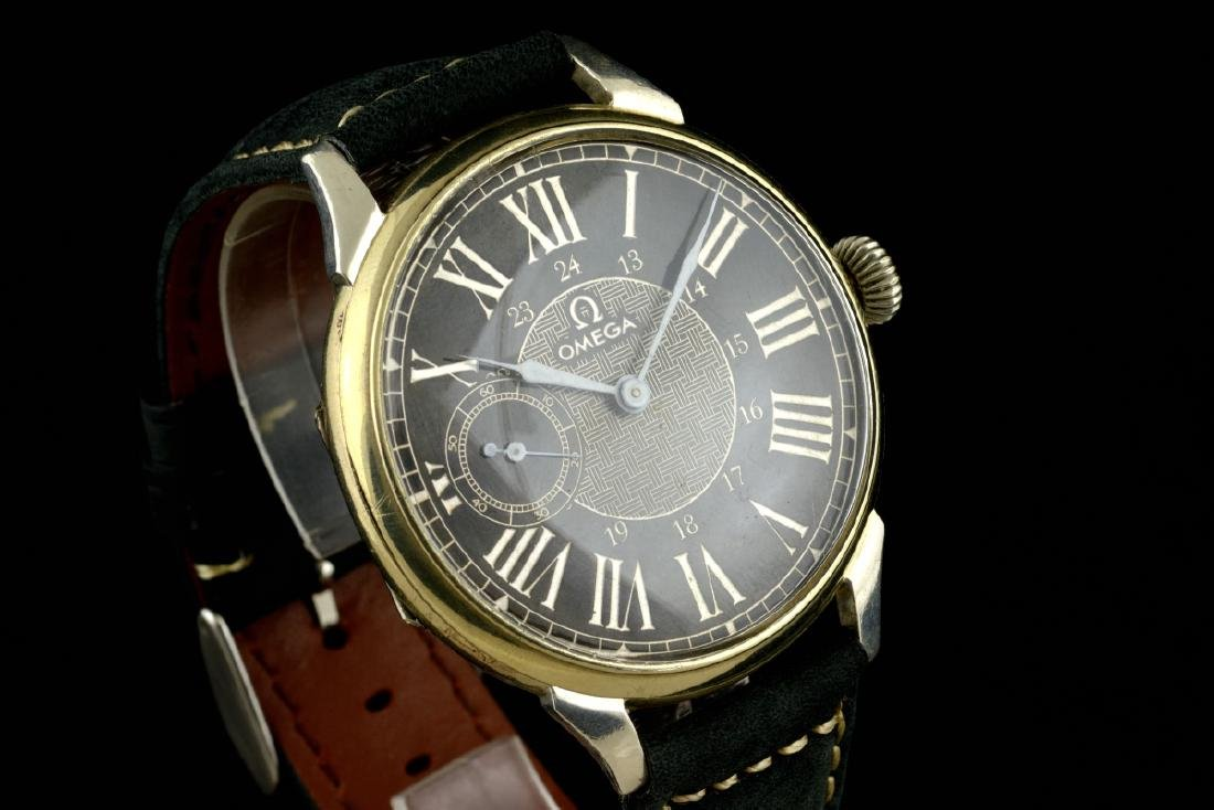 Omega Black Marriage Watch, From Orginal Pocketwatch - 2