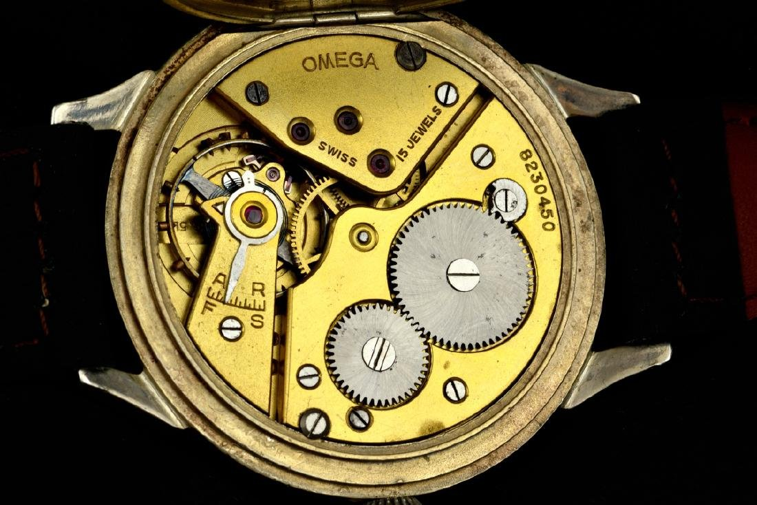 Omega Black Marriage Watch, From Orginal Pocketwatch - 5