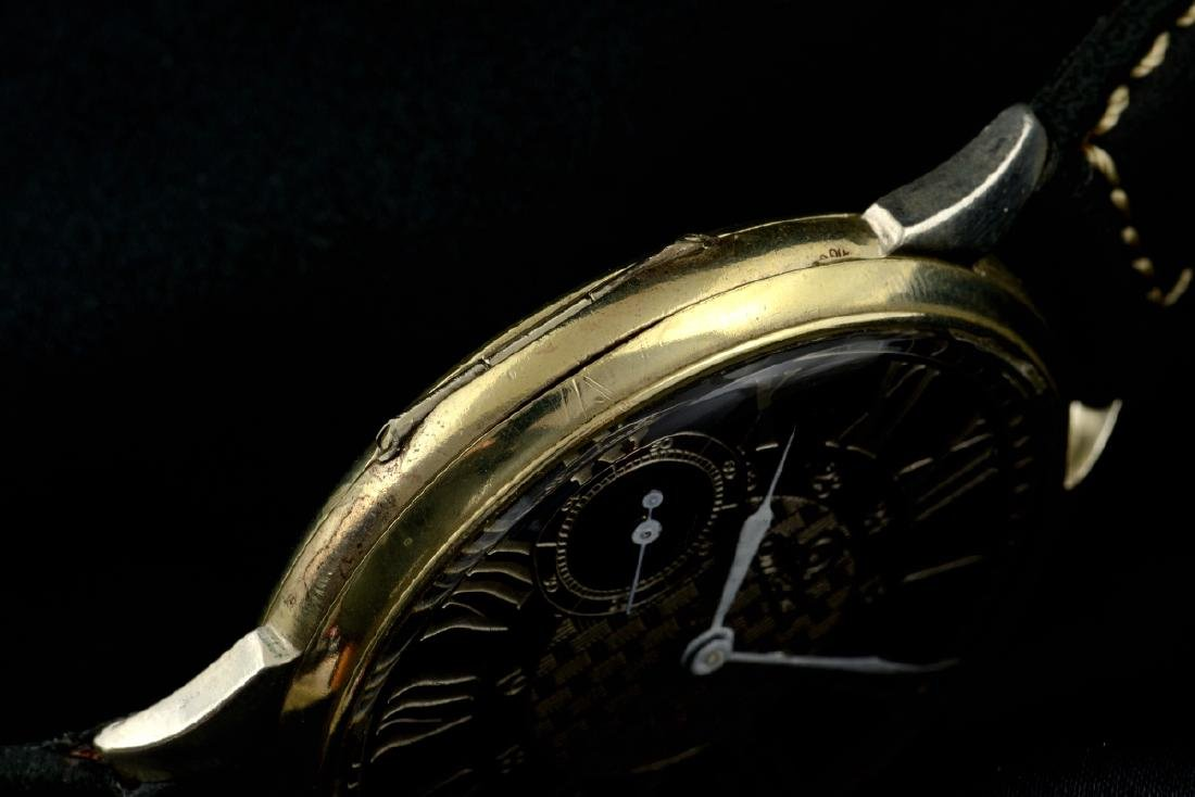 Omega Black Marriage Watch, From Orginal Pocketwatch - 8