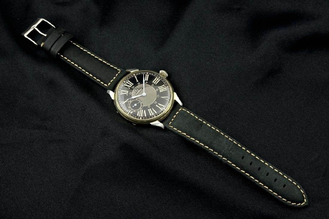 Omega Black Marriage Watch, From Orginal Pocketwatch - 9