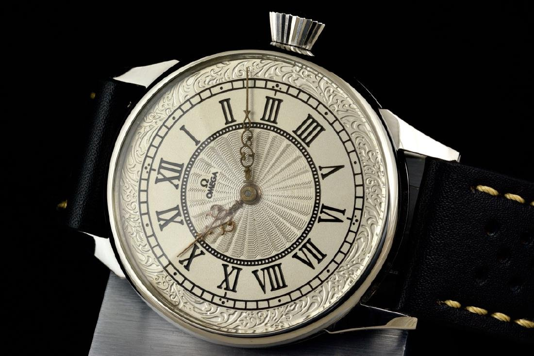 Omega Manual Watch, From 1914 Marriage Pocketwatch - 5