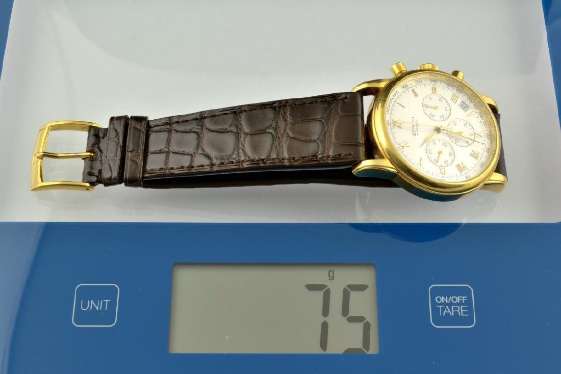 Zenith El Primero Automatic 18K Gold Watch - 10