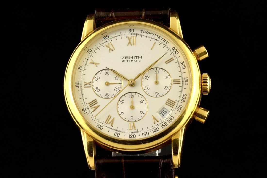 Zenith El Primero Automatic 18K Gold Watch