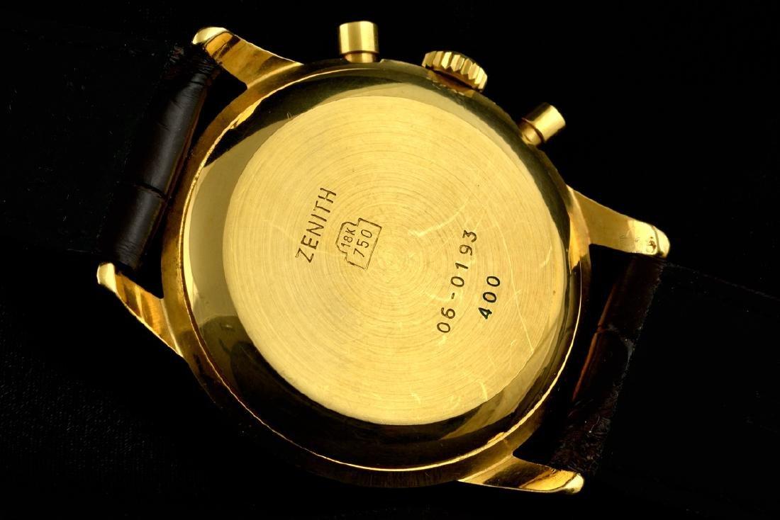 Zenith El Primero Automatic 18K Gold Watch - 4