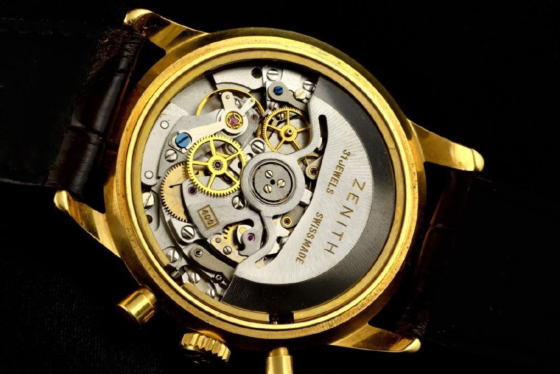 Zenith El Primero Automatic 18K Gold Watch - 6