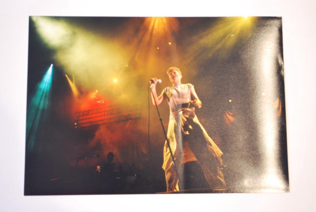 David Bowie Autograph and Press Photo