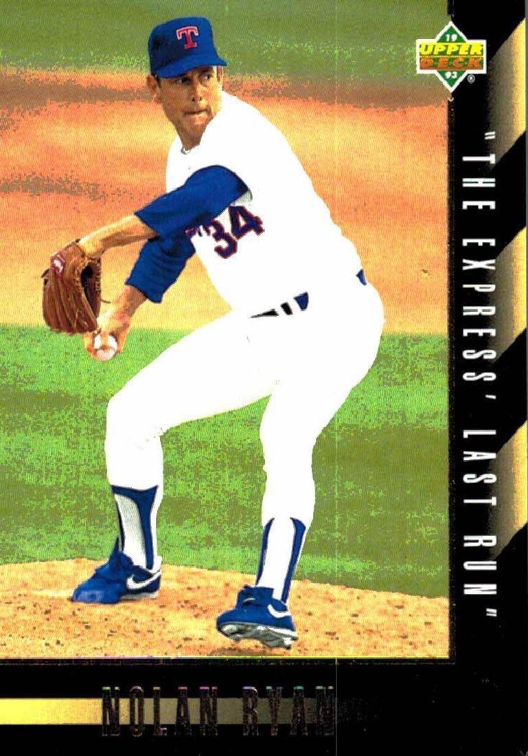 3 Nolan Ryan Baseball Card Lot