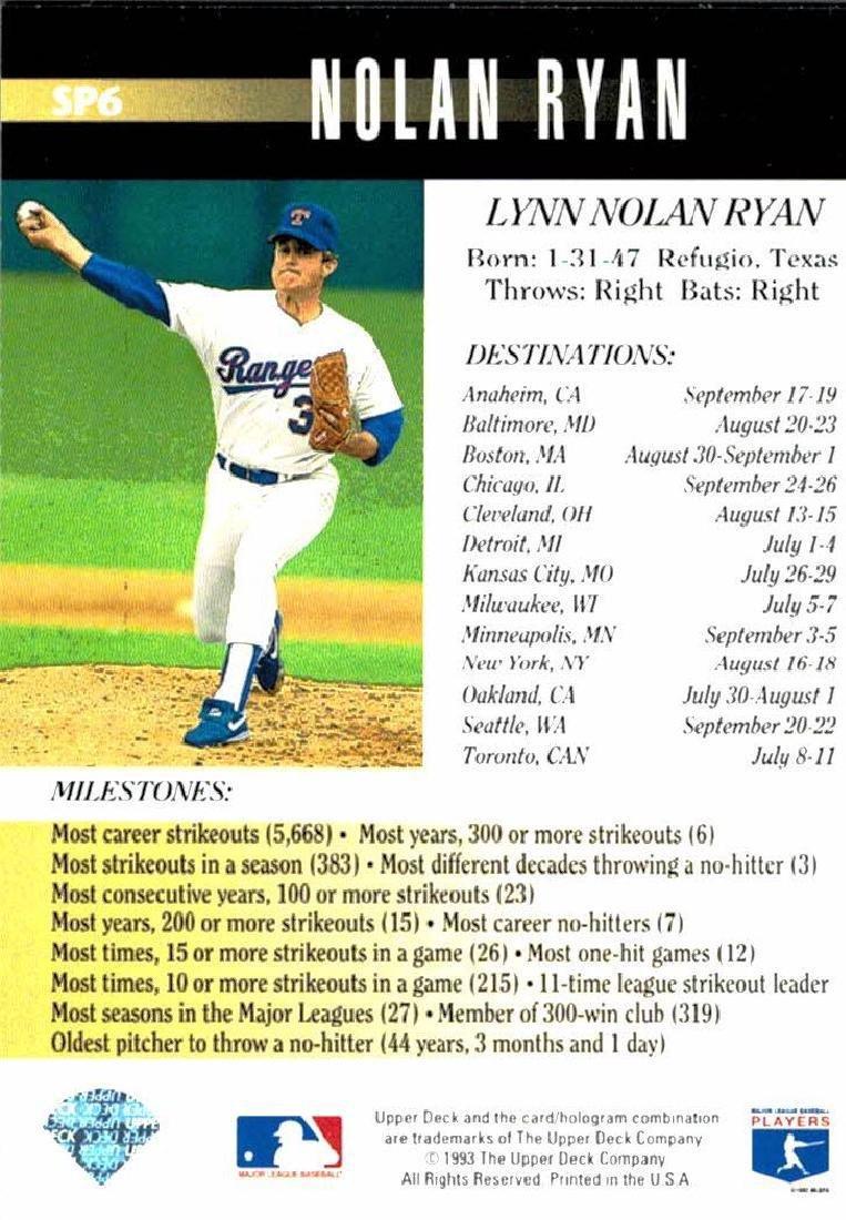 3 Nolan Ryan Baseball Card Lot - 2