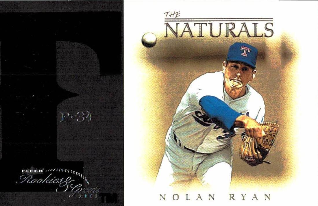 3 Nolan Ryan Baseball Card Lot - 3
