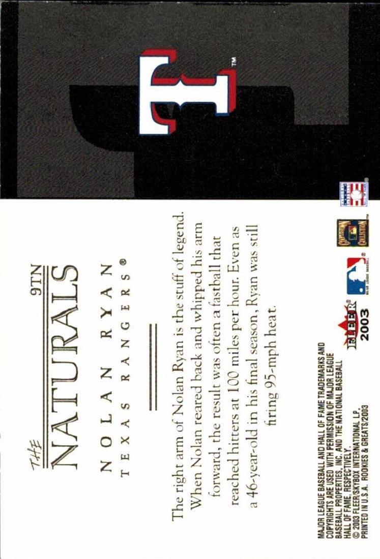 3 Nolan Ryan Baseball Card Lot - 4