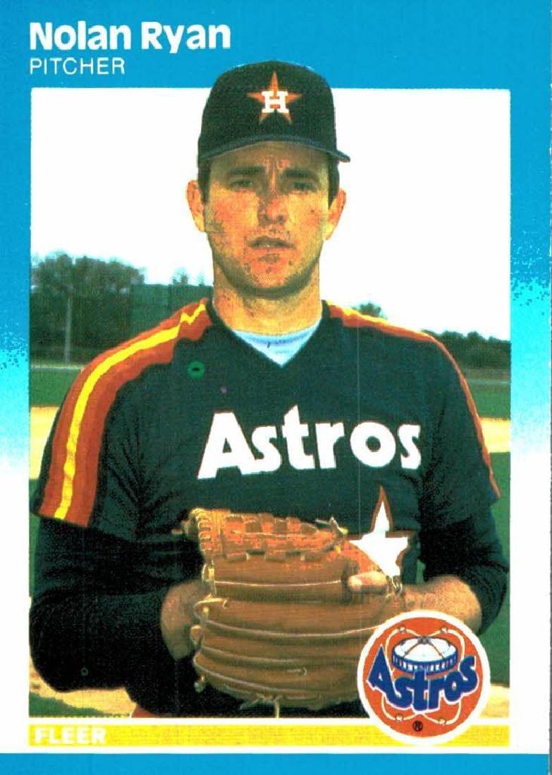 3 Nolan Ryan Baseball Card Lot - 5