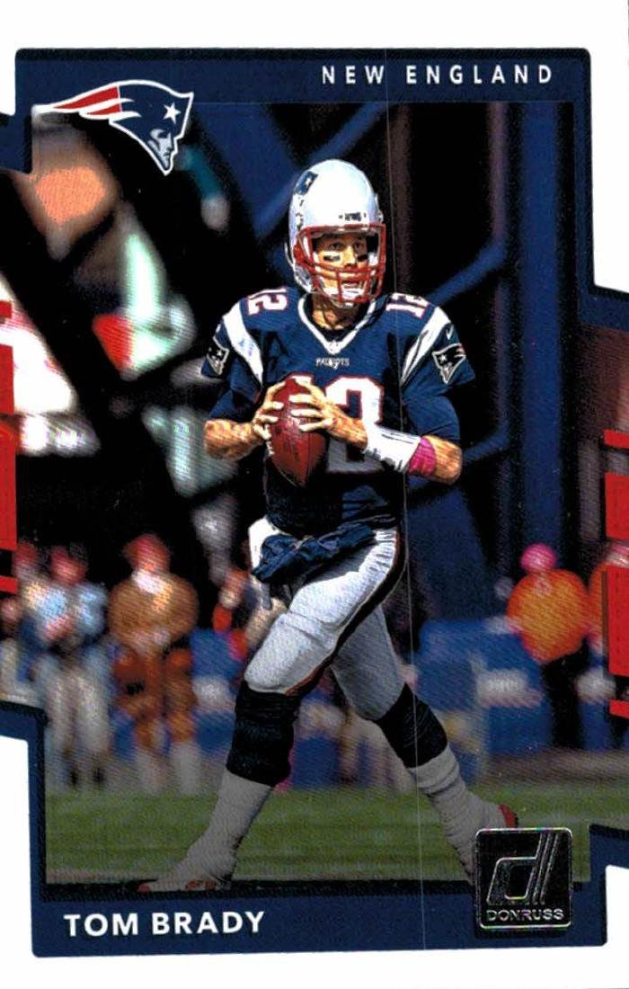 2 2017 Tom Brady Football Card Lot