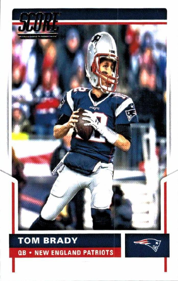 2 2017 Tom Brady Football Card Lot - 3