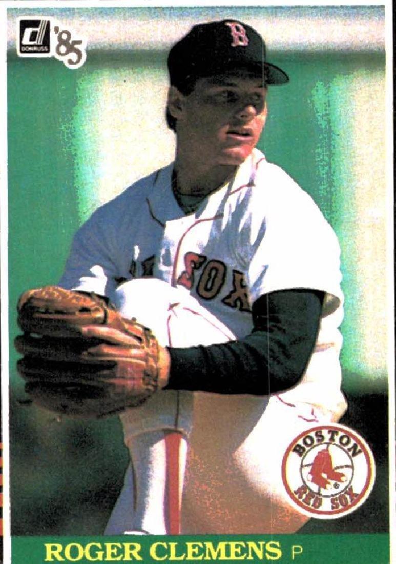 1985 Donruss Roger Clemens Rookie Card