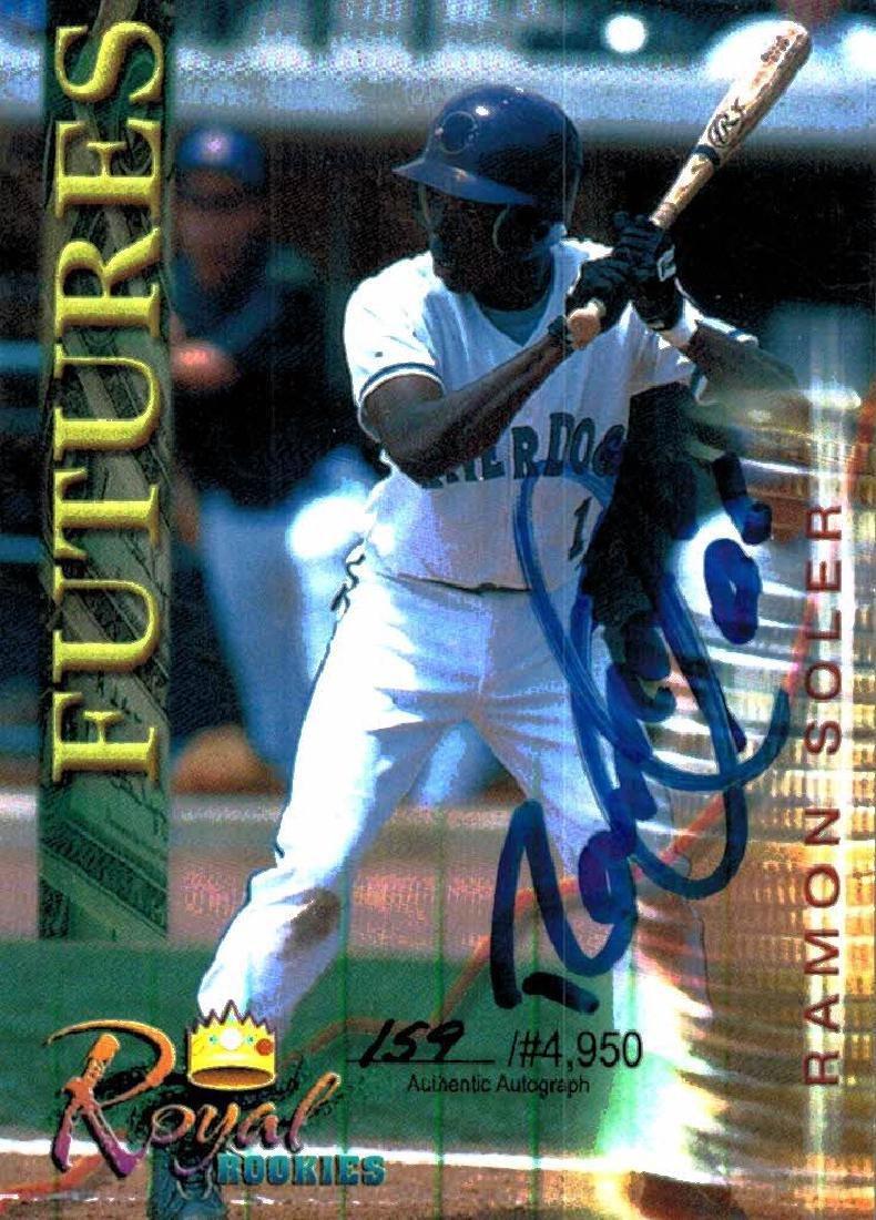 3 Baseball Cards Autographed Jorge Toca Ramon Soler - 3