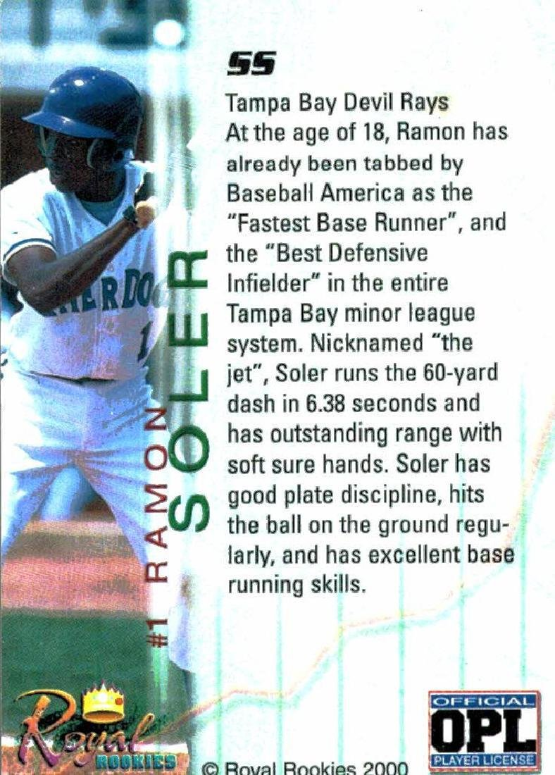 3 Baseball Cards Autographed Jorge Toca Ramon Soler - 4