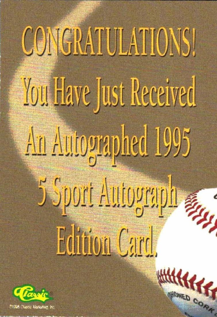 4 Baseball Card Autographed Todd Greene Bryan Rekar - 2