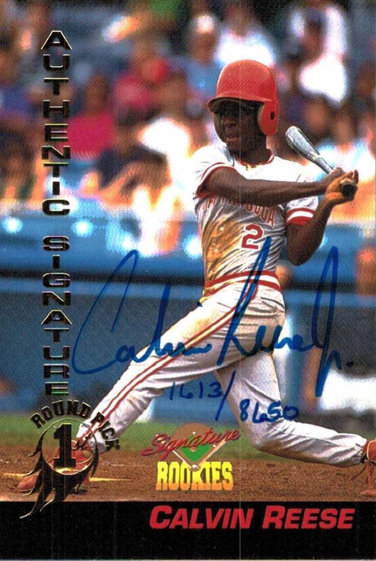 4 Baseball Card Autographed Todd Greene Bryan Rekar - 7
